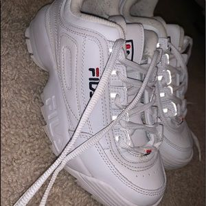 FILA chunk shoes!!